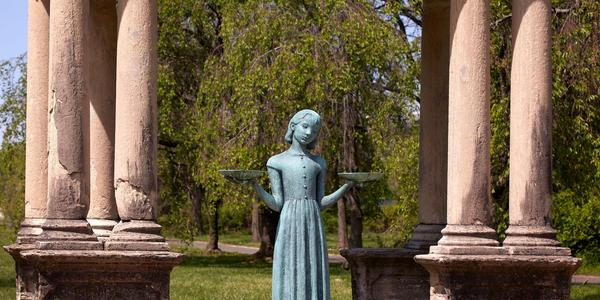 Sylvia Shaw Judson, Bird Girl, sold for $390,600, a new world auction record for a sculpture by Judson.