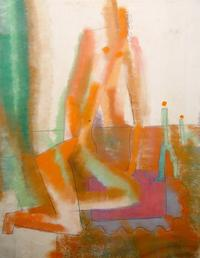 Figures in Motion, Pastel #116