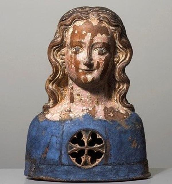 Reliquary bust of one of the 11,000 Virgins, Germany, Cologne, c1350, Sam Fogg