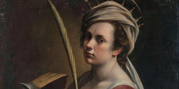 Artemisia Gentileschi, Self-Portrait as Saint Catherine of Alexandria, c.  1616, National Gallery (UK).