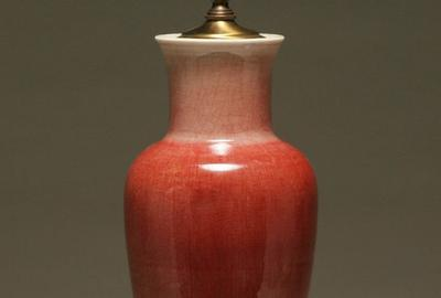 Chinese Oxblood glaze vase brought $8,000 at Antique Helper's October 30 auction
