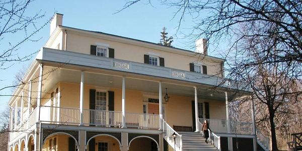 c.  1815 Main House at the Thomas Cole National Historic Site