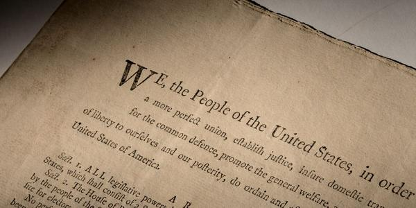 An extremely rare official first-edition printed copy of the U.S.  Constitution as adopted by delegates to the Constitutional Convention in Philadelphia in 1787, to be sold by Sotheby's in November.