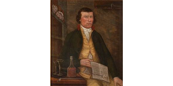 Portrait of Daniel Trueheart, attributed to William Hodgson, Hanover County, Virginia, ca.  1794, gift of Mr.  & Mrs.  Bruce B.  James, in memory of Margery Woodall James Fleet, 2019.100.2