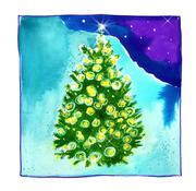 Fine Art Daily, Christmas tree