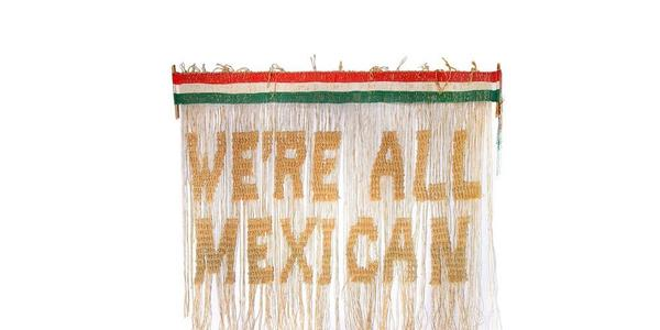 "Victor De La Rosa, ""We're All Mexican,"" 2020, Photograph by Ilja Sarro."