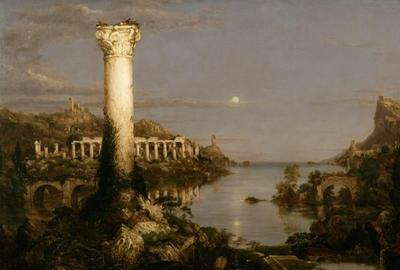 Thomas Cole (1801-1848) -- Desolation