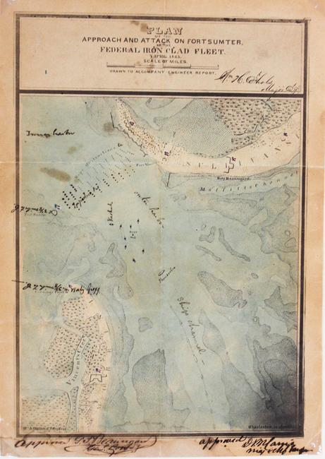 A rare confederate map by William Aiken Walker.