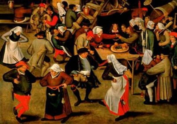 Pieter Bruegel the Younger, The Indoor Wedding Dance, 1622 To be exhibited by De Jonckheere, Paris at TEFAF Maastricht 2010