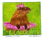 Fine Art Daily, Groundhog's Day