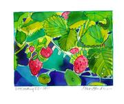 Fine Art Daily, first strawberries