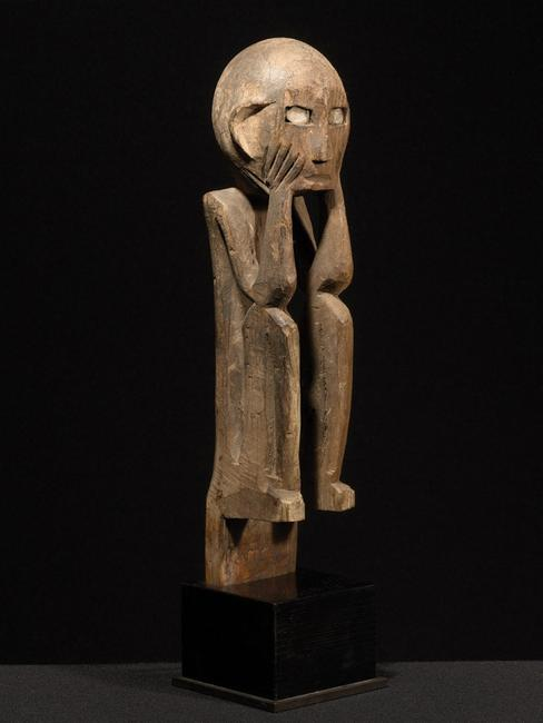 Kankanay Tribe Coffin Peg, Philippines.