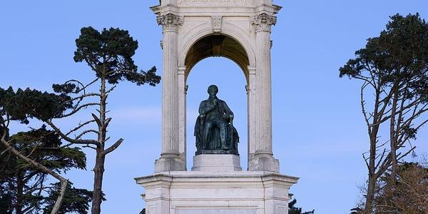 Francis Scott Key Monument, Golden Gate Park, San Francisco.