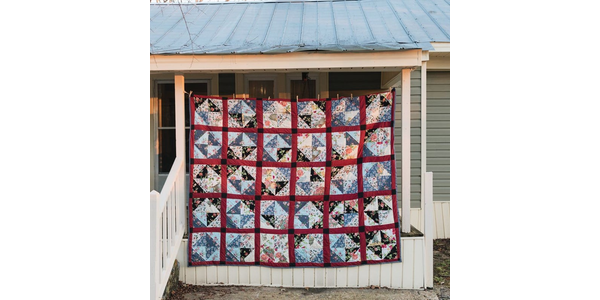 Handsewn Gee's Bend Quilt by Doris Pettway Hacketts from the KandKTreasureShop on Etsy.  $5,980.