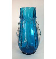 Harrach lizard vase from M.  & D.  Moir.