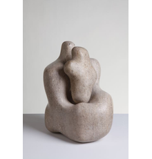 Dame Barbara Hepworth DBE (1903-1975) 'Mother & Child', 1934.  Purchased by Wakefield Corporation in 1951 © Bowness.  Photography Jerry Hardman-Jones.  The Hepworth, Wakefield