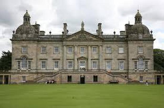 Houghton Hall in Norfolk is an important Palladian building.  The architects were Colen Campbell, who began the building, James Gibbs, who added the domes, and William Kent.