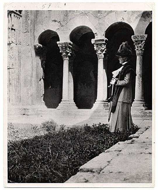 Mary Cassatt at Arles, 1912 / unidentified photographer.  Frederick A.  Sweet research material on Mary Cassatt and James A.  McNeill Whistler, Archives of American Art, Smithsonian Institution.