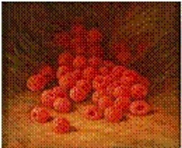 "William Mason Brown's ""Red Raspberries"" (ca.  1866) is the proposed acquisition for the American art collection."