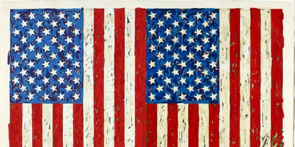 Jasper Johns, Flags I.