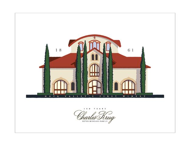 Charles Krug Winery Will Commemorate 150th Anniversary with Michael Schwab Design