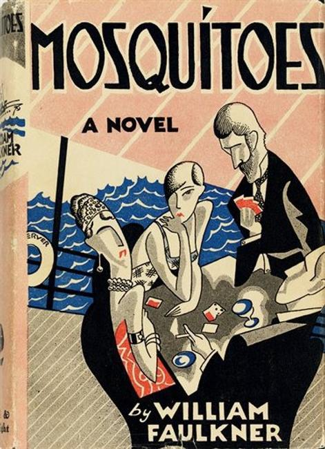 "One of the rarest Faulkner volumes will be offered at Christie's on June 22.  The 1927 novel ""Mosquitoes"" (estimate: $20,000-30,000) is a first edition, first printing."