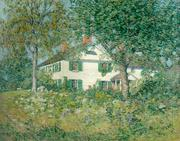 "Clark Greenwood Voorhees (1871 - 1933) Chadwick House, Old Lyme, signed lower right, oil on canvas, 28"" x 36"".  $110,000"