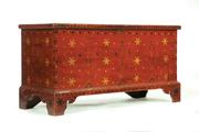 Lot 102, the Ohio blanket chest, which sold for $50,525 during Garth's January 12 Country Americana auction.