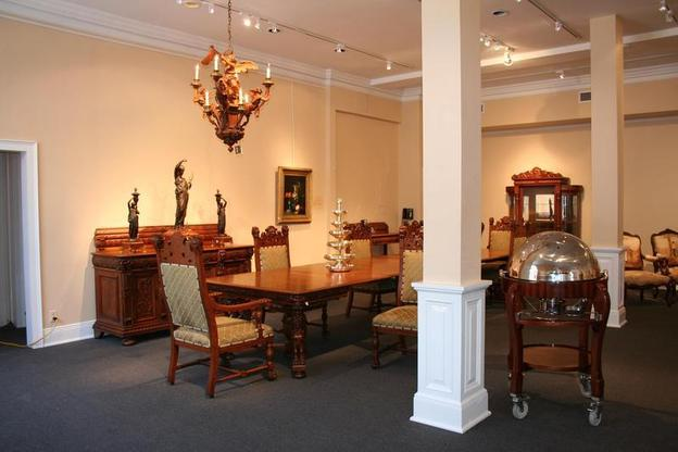 M.S.  Rau has added a second gallery called Le Salon, located near their original French Quarter gallery, where many museum-quality antiques are on display in a home-like setting.