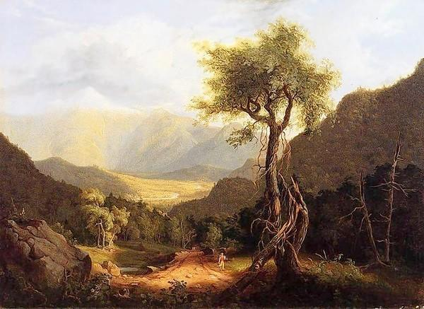 Hudson River School artist Thomas Cole is part of the John and Jean Wilkinson Collection.