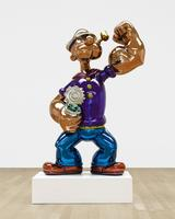 A 7-ft.  tall Popeye by Jeff Koons headlines this month at Sotheby's.  The estimate is $25 million.