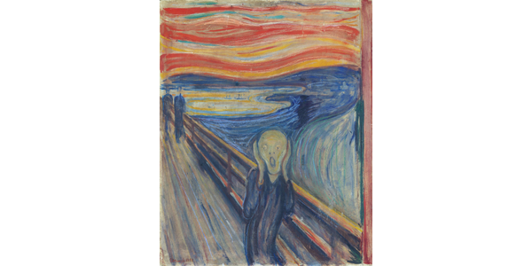 """Edvard Munch's """"The Scream."""" National Museum of Norway."""