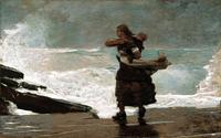 "Winslow Homer in ""American Stories"" at the Met."