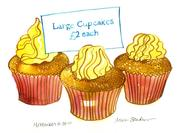 Fine Art Daily, cupcakes