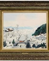 Grandma Moses at Brunk Auctions