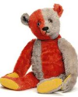 Steiff Harlequin Teddy Bear, circa 1925, at Christie's Oct.13 sale in London may fetch six-figures.