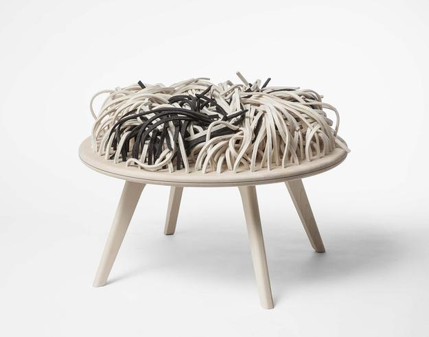 Design Collaboration Nynne Faerch & Majken Mann, RUGchair, Textile Furniture