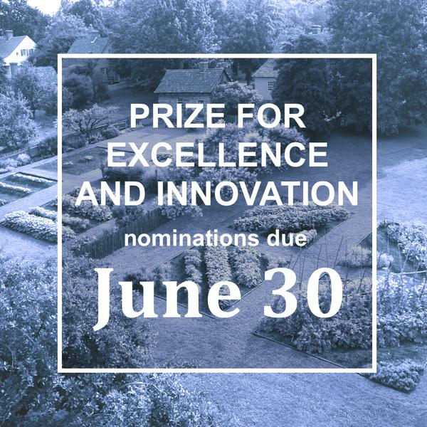 June 30 is the deadline for nominations for the Decorative Arts Trust Prize for Excellence and Innovation.  (Image courtesy of Old Salem and the Museum of Early Southern Decorative Arts.)