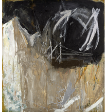 Ann Purcell, Kali Poem #36, 1986, acrylic on canvas, 72 x 66 inches.