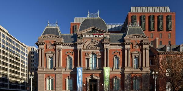 Renwick Gallery of the Smithsonian American Art Museum.  Photo by Ron Blunt