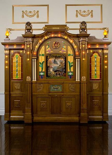 A very fine and unique Hupfeld Helios Model III/39 Orchestrion, estimated at $800,000 - 1,200,000 .