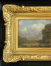 "Session VI, Lot 1.  Landscape by Julian Onderdonk (1882-1922) American (Texas) Julian Onderdonk lower right.  Oil on panel 4 1/2"" x 8 3/4"" Gilt frame in shadow box (Good) $25,000 - 30,000"