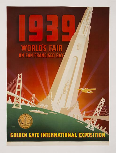 "Shawl, Nyeland & Seavey, ""1939 World's Fair on San Francisco Bay,"" 1937"