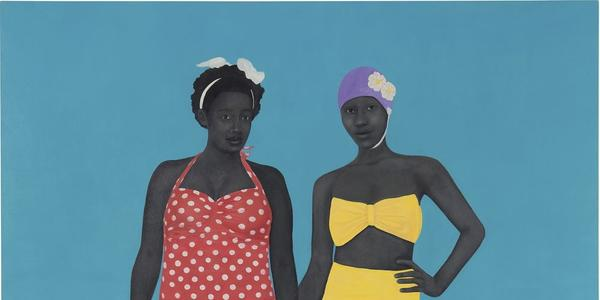 Amy Sherald, The Bathers, 2015, brought an artist record of $4,265,000.