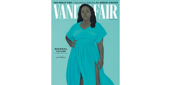 Cover of Vanity Fair's September 2020 issue, featuring a portrait of Breonna Taylor by Amy Sherald.