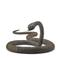 Lot 1168, Japanese Myochin School Iron Articulated Snake, sold for $118,750