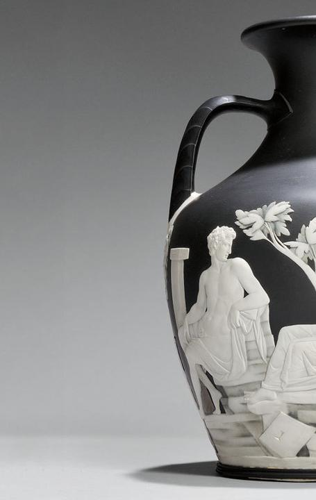 Wedgwood Numbered First Edition Copy of the Portland Vase, England, 18th century (Lot 365, Estimate $40,000-$60,000)