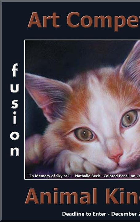 "Fusion Art Announces the 3rd Annual ""Animal Kingdom"" Art Competition www.fusionartps.com"