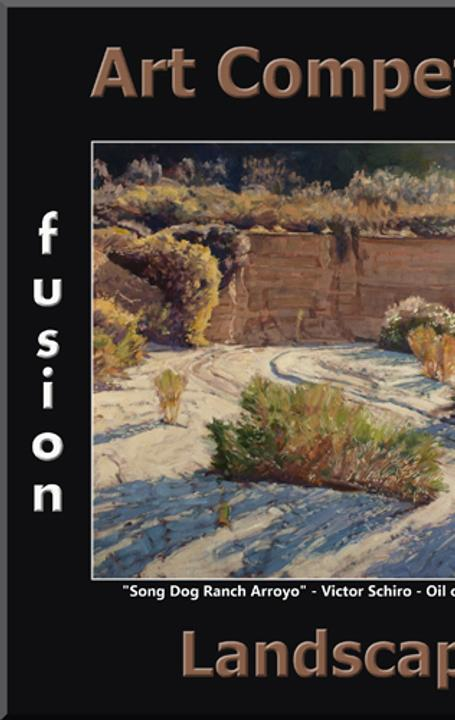 "Fusion Art Announces the 3rd Annual ""Landscapes"" Competition.  www.fusionartps.com"