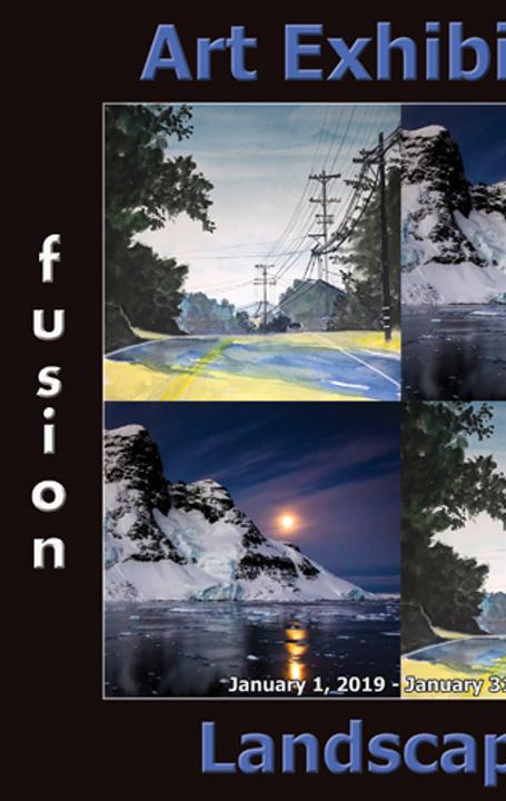 4th Annual Landscapes Art Exhibition www.fusionartps.com